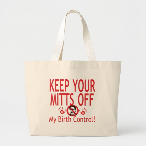 Mitts Off Birth Control Bags