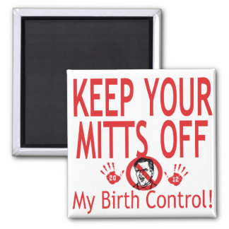 Mitts Off Birth Control Magnet