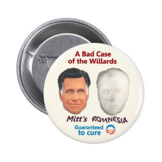 Mitt's Romnesia Pinback Button