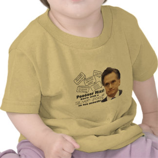 Mitt's Silver Foot in Mouth Shirts