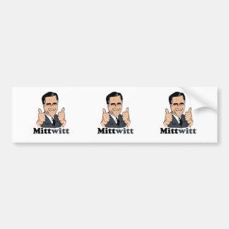 Mittwitt Bumper Sticker
