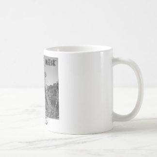 Mitty The Meesk Classic White Coffee Mug