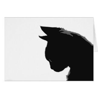 Mitzi Kitty: Black and White Cat Note Cards