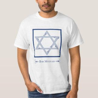 mitzvah de la barra (estrella de la elegancia de playera