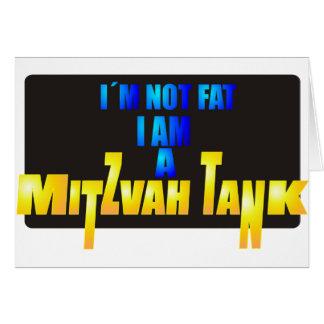 Mitzvah Tank Card