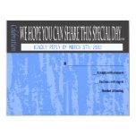 MITZVAH WORDS SAYINGS Bar Bat Reply Card Custom Invite