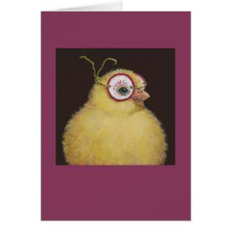 Mitzy the masked peep card