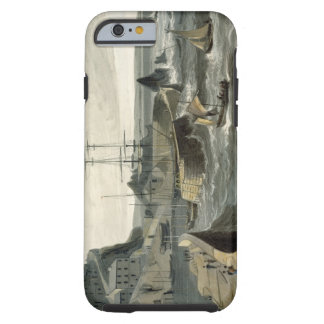 Mivagissey, Cornwall, from Volume VIII of 'A Voyag Tough iPhone 6 Case