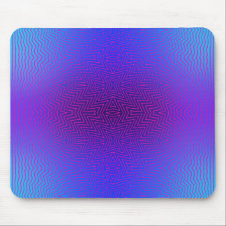 Mix #143 - Blue Purple Mousepad