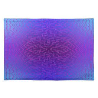 Mix #143 - Blue Purple Placemat