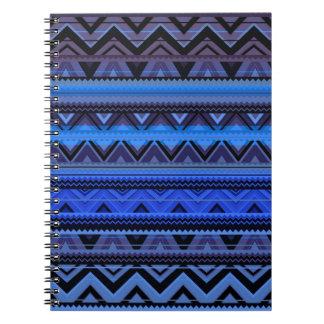 Mix #218 - Blue Aztec - Detail Notebook