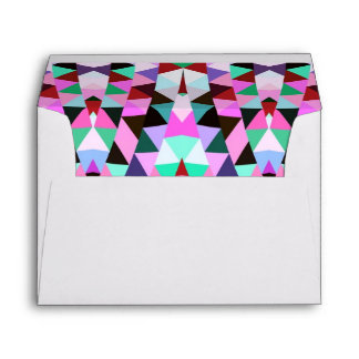 Mix #320 - Pink Pattern Inside Envelope