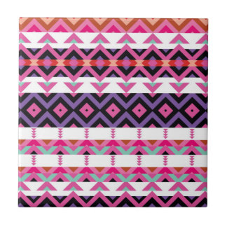 Mix #339 - Pink Tribal Tile