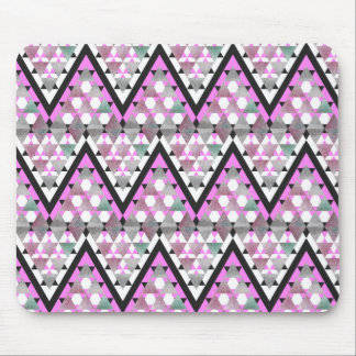 Mix #401 - Pink Tribal Mousepad