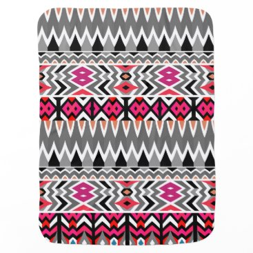 Aztec Themed Mix #570 - Tribal Baby Blanket