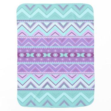 Aztec Themed Mix #589 - Aztec Pattern Baby Blanket