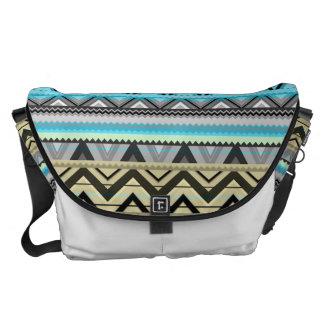 Mix #76 Double Size - Blue Aztec Bag