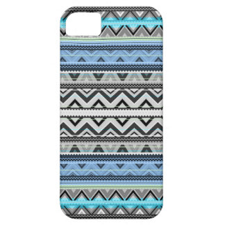 Mix #76 Double Size - Blue Aztec iPhone 5 Case