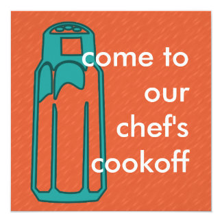Mix and Match Collection Cooking Salt Shaker Card