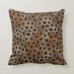 Mix and Match Earth Tone Flowers Throw Pillows