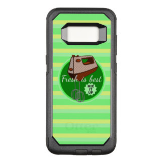 Mix it up FOODIES retro mixer OtterBox Commuter Samsung Galaxy S8 Case