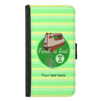 Mix it up Hand Mixer Retro Design Samsung Galaxy S5 Wallet Case