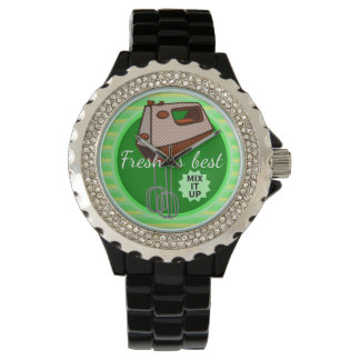 Mix it up Hand Mixer Retro Design Wristwatch