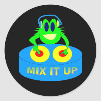 Mix It Up Round Stickers