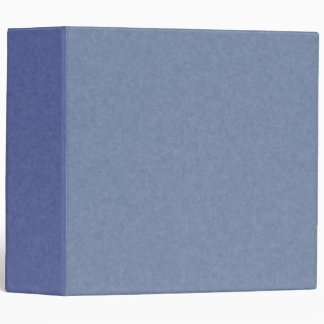 Mix & Match 41 Shades of Blue 3-ring Binder