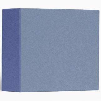 Mix & Match 41 Shades of Blue 3-ring Binder