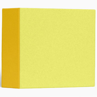 Mix & Match 8 Shades of Yellow 3-ring Binder