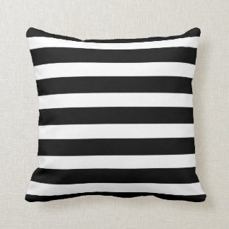 Mix & Match - Black - Just Stripes Pillow