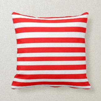 Mix & Match - Red - Just Stripes Pillow