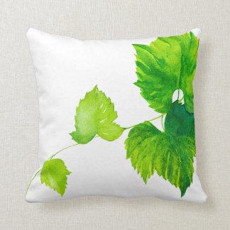 """Mix & Match Vineyard Pillows """"Green Grapes"""""""