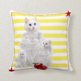 Mix & Match -Yellow Throw Pillow