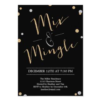 Mix & Mingle Holiday Party Invitation