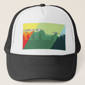 Mix Mountains Trucker Hat