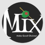 Mix sticker- black choices