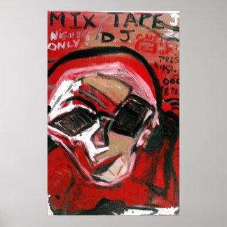 MIX TAPE DJ RED PRINT