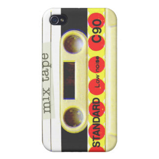 Mix Tape Cases For iPhone 4