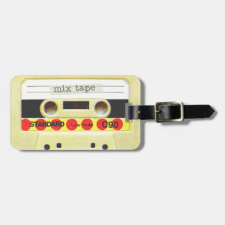 Mix Tape Travel Bag Tags