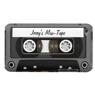Mix Tape Personalized Barely There iPod Cover