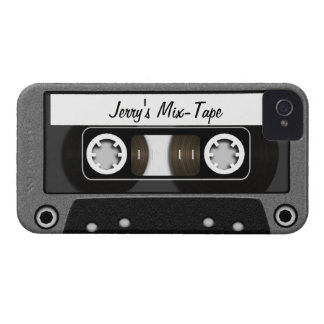 Mix Tape Personalized Case-Mate iPhone 4 Cases