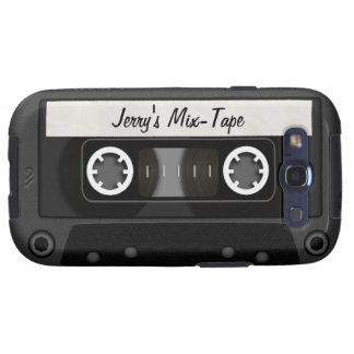 Mix Tape Personalized Galaxy SIII Cover