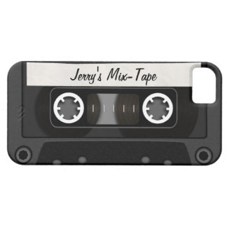 Mix Tape Personalized iPhone 5 Cases
