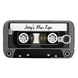 Mix Tape Personalized Galaxy S4 Cover