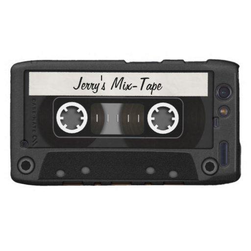 Mix Tape Personalized Motorola Droid RAZR Case