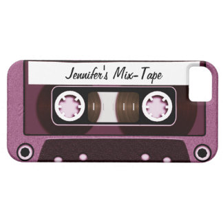 Mix Tape Personalized Pink iPhone 5 Covers