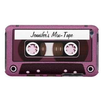 Mix Tape Personalized Pink iPod Touch Case-Mate Case
