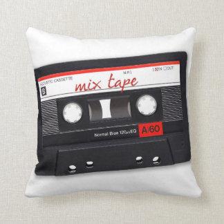 Mix Tape Throw Pillows